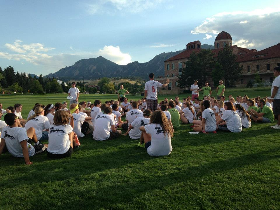Stampede Leadership Camp: UC Boulder