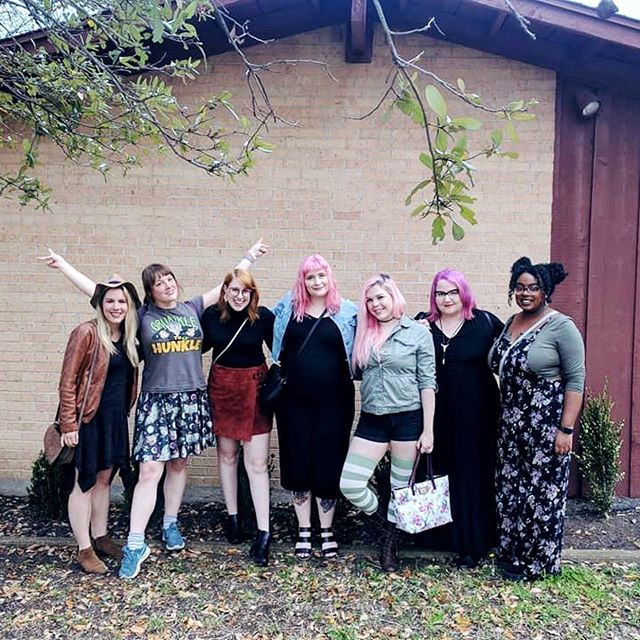 This weekend was my bachelorette party! 7 days until #mooresitesmorefun 😱 Thank you @lizlocksley for planning everything and making it SO cute, and for @alyssa_with_an_e @writeslikeagirl @missjamiekaye @linalae @afroeccentrix and @chrissymoses17 for celebrating with me and making me feel so loved and special. 🥰