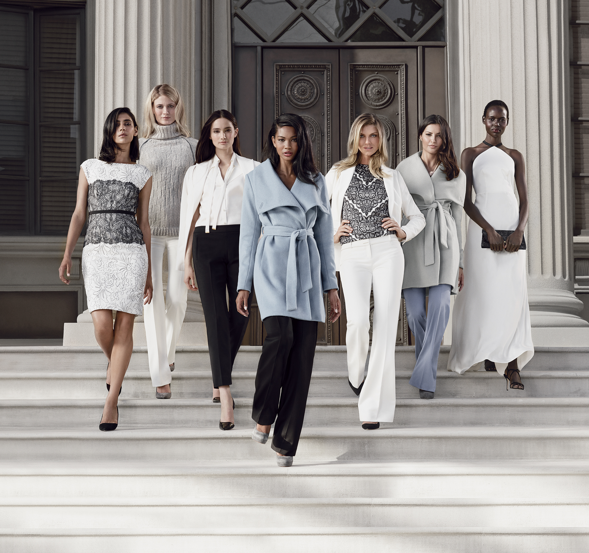 The Limited Collection Inspired by: Scandal, Holiday 2014 Editorial Campaign