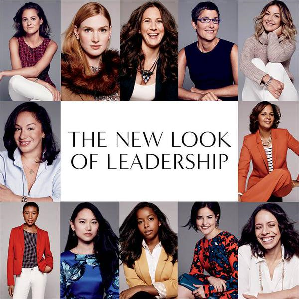The New Look of Leadership, The Limited Fall 2015 Campaign