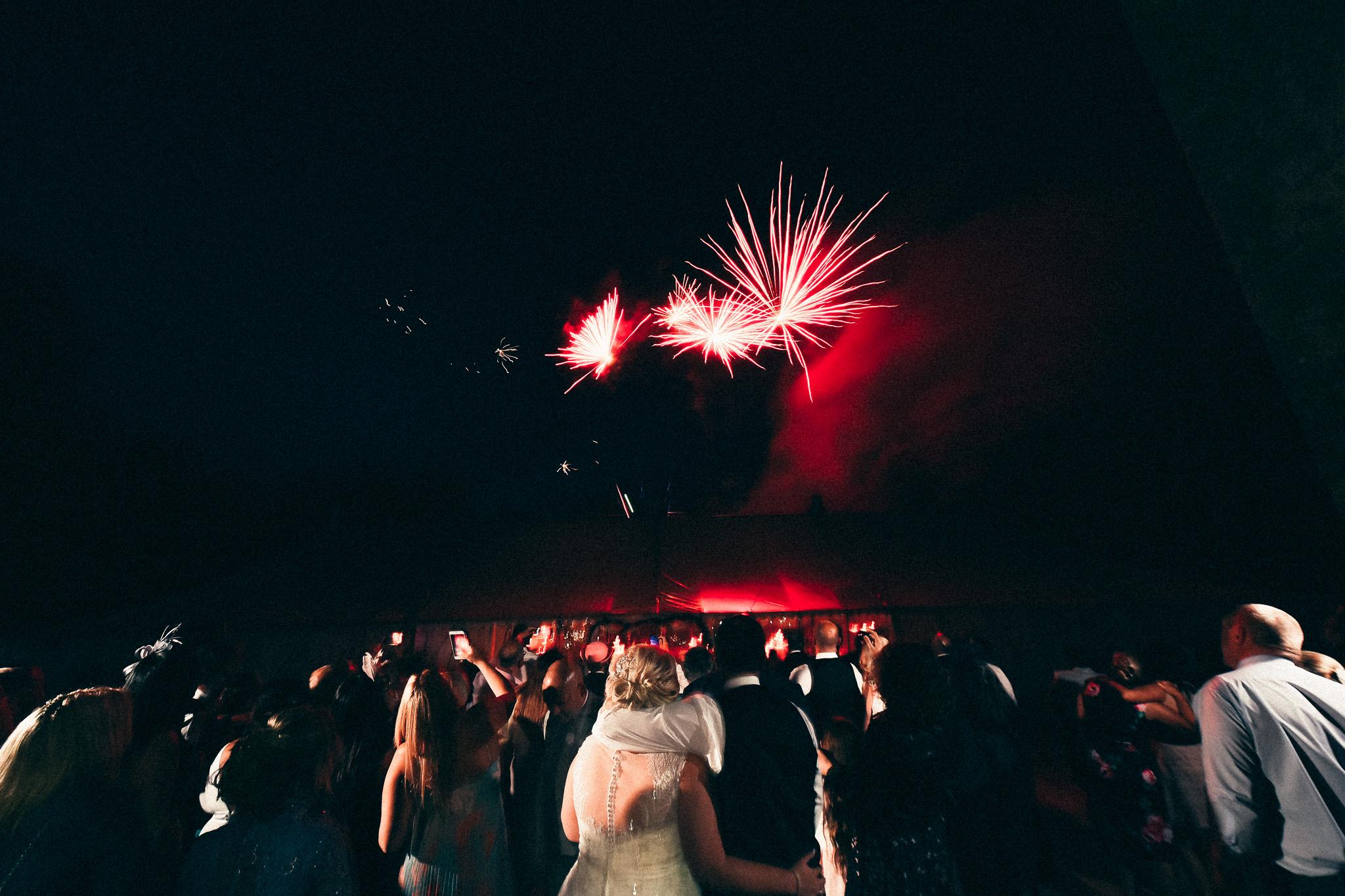 Fireworks at Springkell