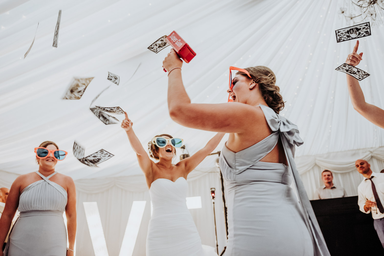 bride dancing at best Yorkshire venue