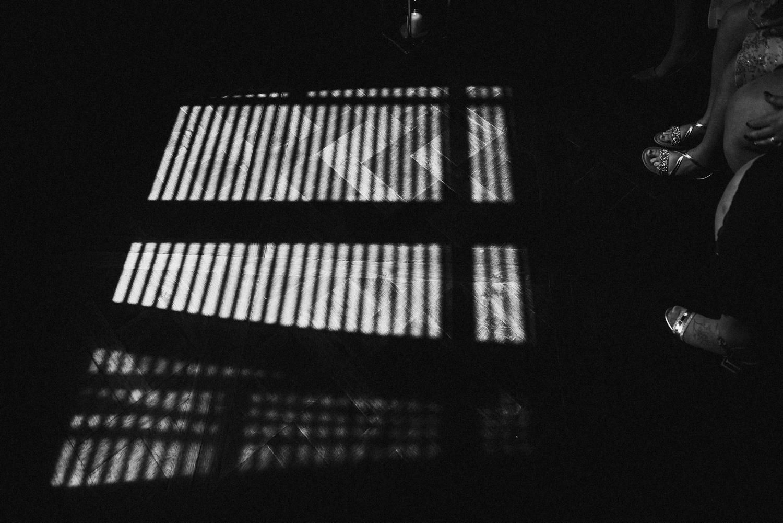 Light coming through manor house window