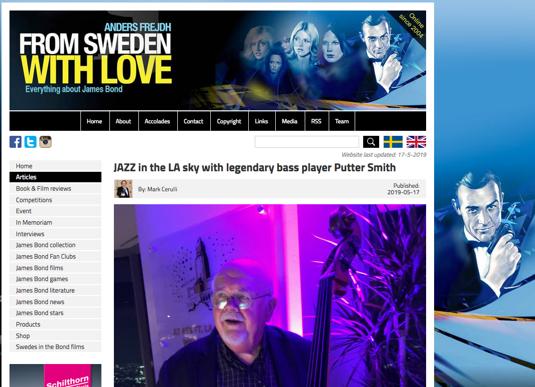 From Sweeden with Love - Everything about James Bond