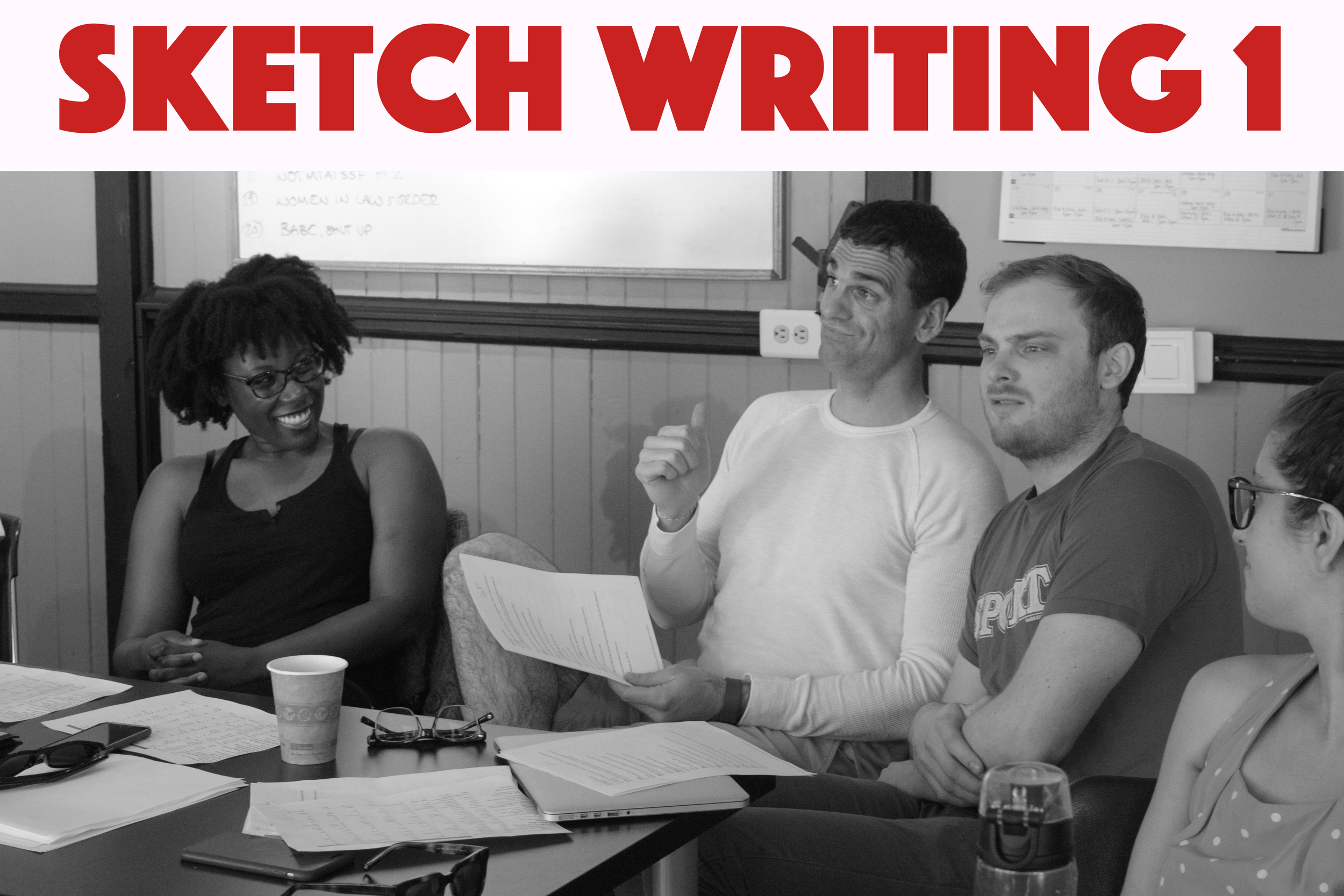 Learn the fundamentals of sketch comedy writing and develop your comedic voice in a fun, supportive environment. Sketch Writing 1 is open to all experience levels.