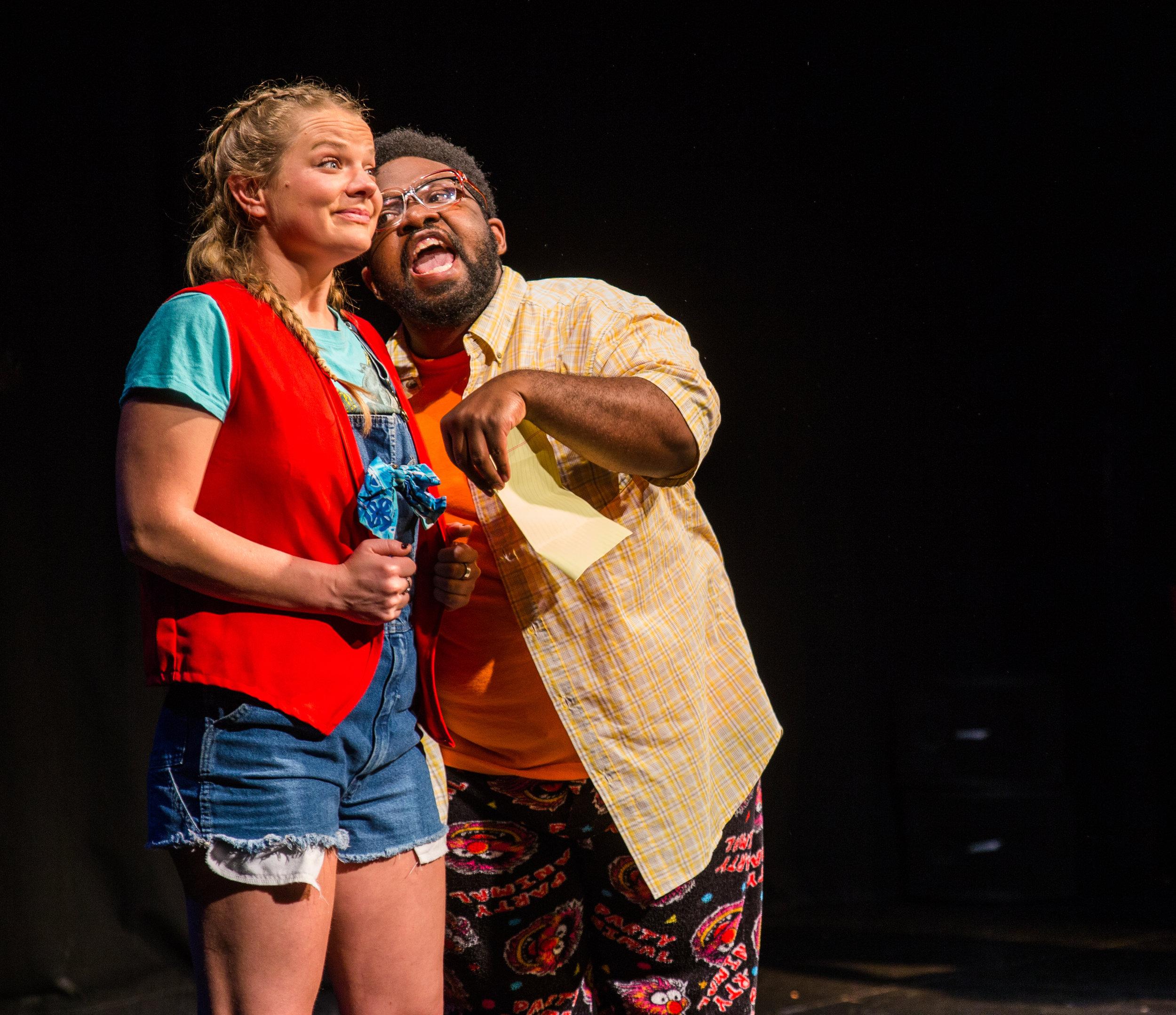 Actors Kyna Wise & Alsa Bruno in 2017's 826+KML=BFFs