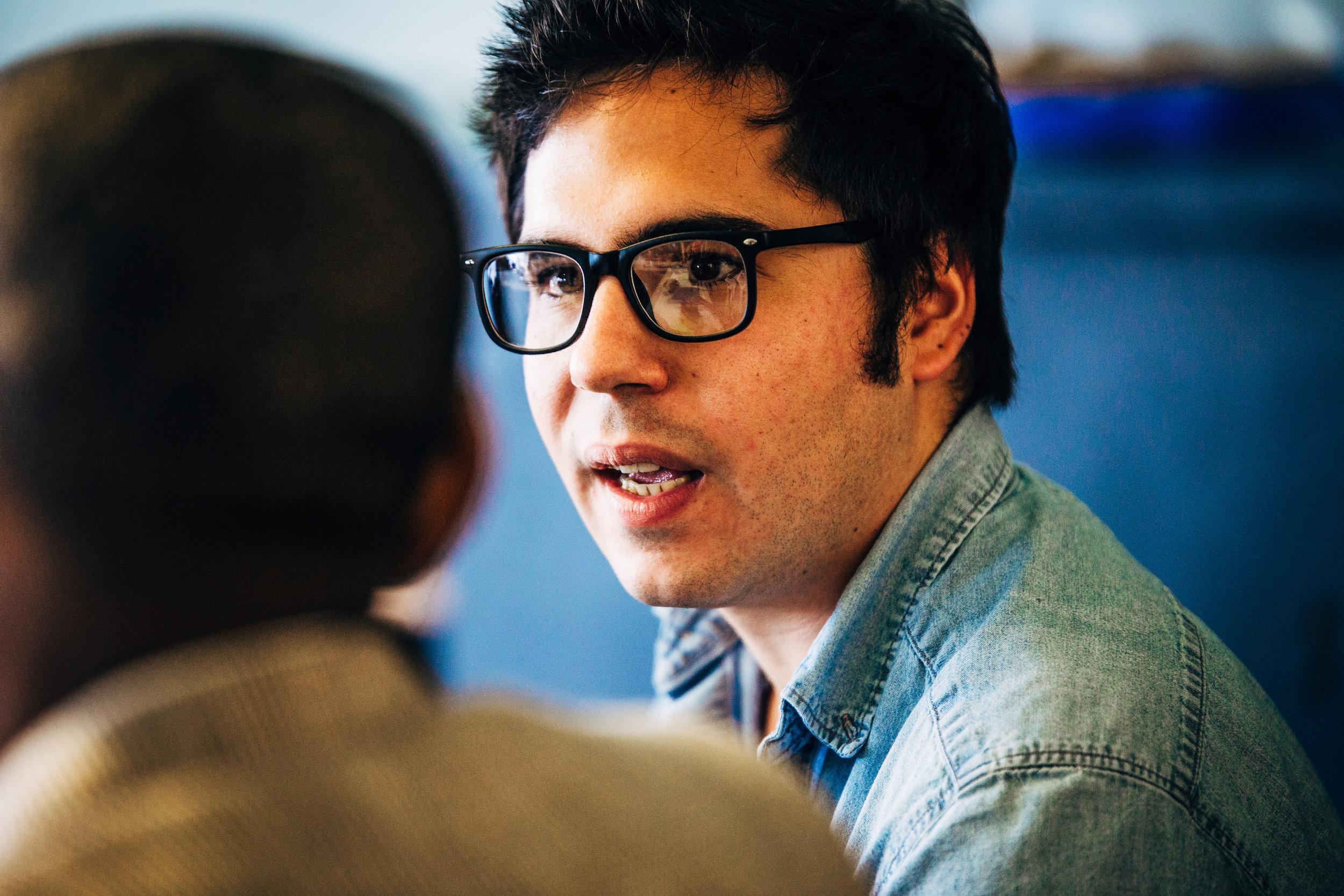 Writer Ben Jaramillo