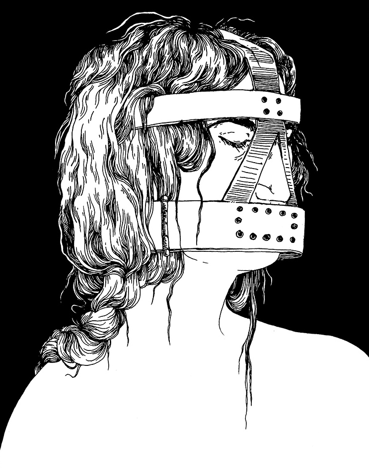 SCOLDS BRIDLE (2013)     available as a shirt     HERE