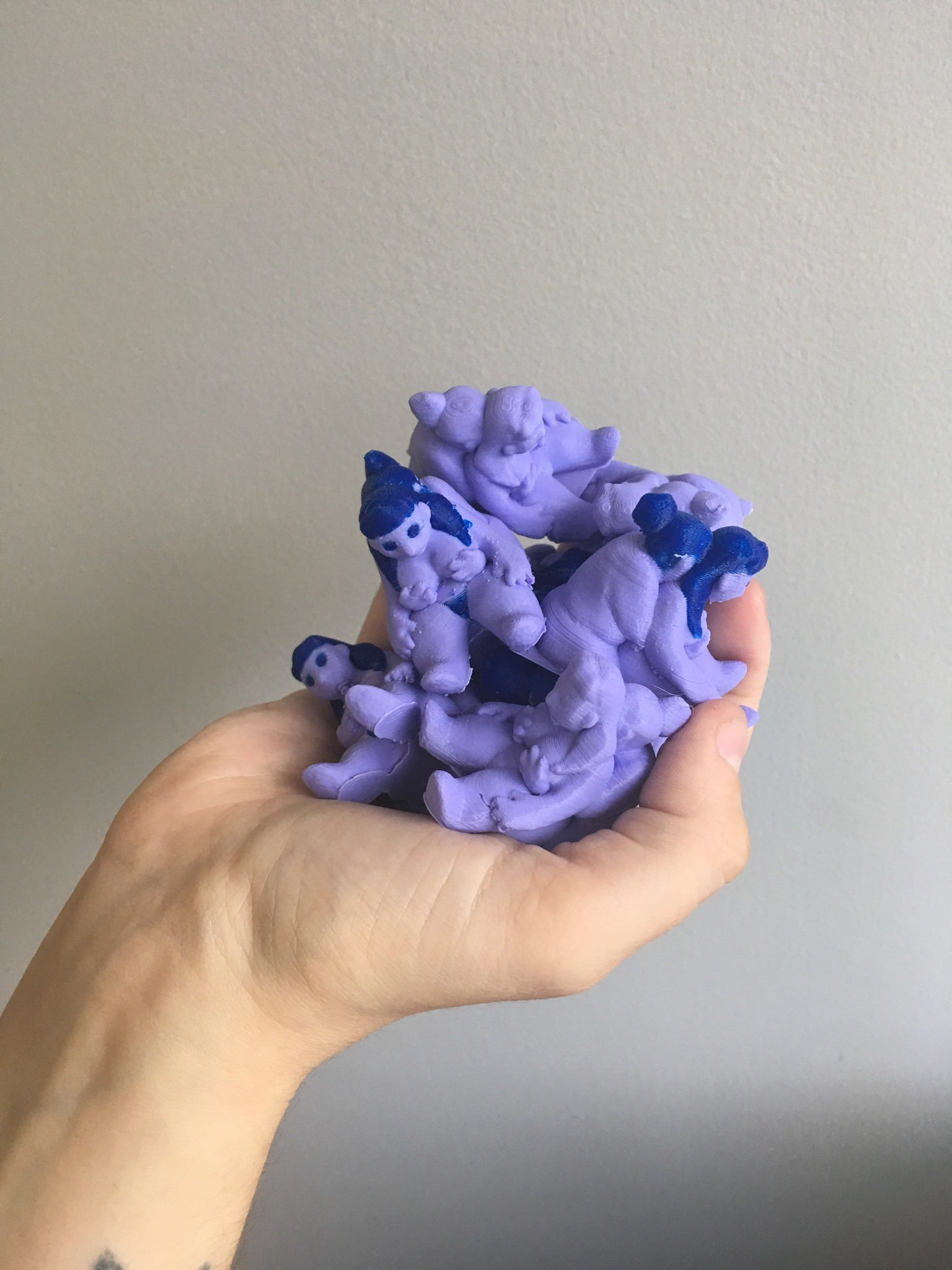 BREST FRENDS (2018)   3D printed figurines, free to print on     THINGIVERSE