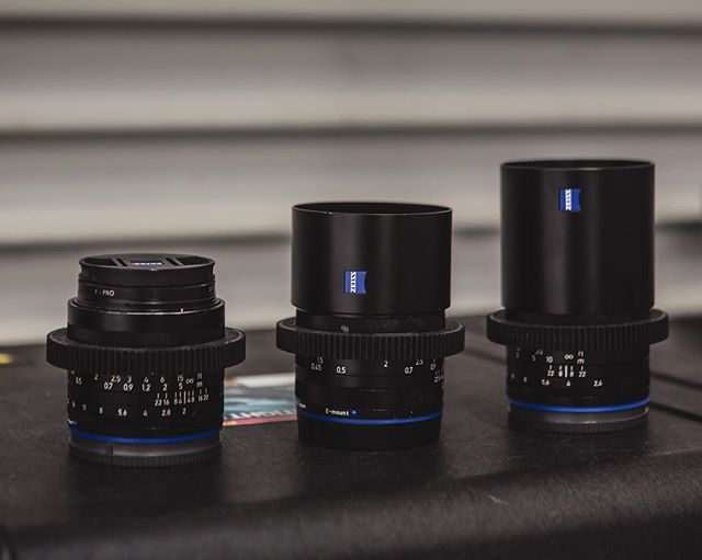 Everyone needs a good set of primes.  My go to has been the loxia 35mm, 50mm, and 85mm. - - - #sacramento #visitsacramento #sacramentoproud #yourschoolyourview #mymikescamera #onlocation #zeiss #artofvisuals #aovfilms #makingof #videomaker #sonyalpha #behindthescenes #onset #onsetlife #justgoshoot #createcommune