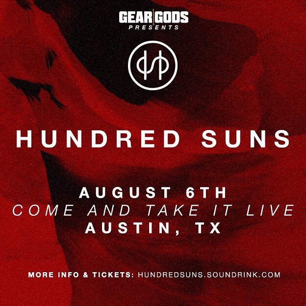 Austin, what's good?! We're super excited to be rolling through on August 6th and it's one of our very first shows, so let's make this one a banger! Who's grabbed tickets?  You can get em at: HUNDREDSUNS.SOUNDRINK.COM  Scoop em up and let's make this one for the books. 💯