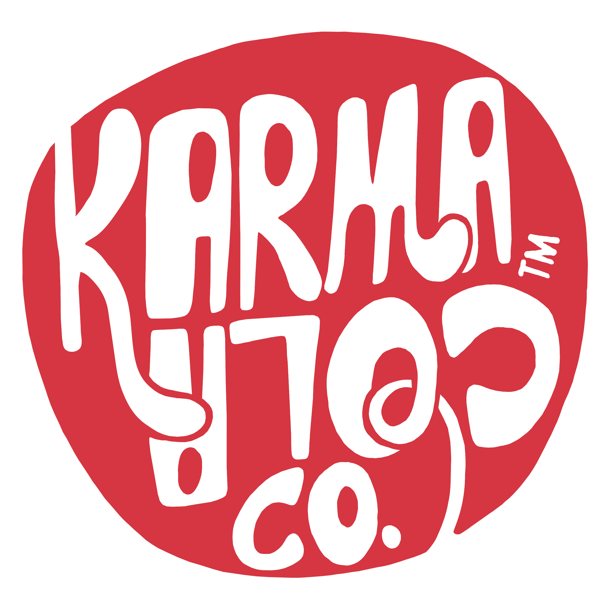 Karma Cola Co red and white logo.png