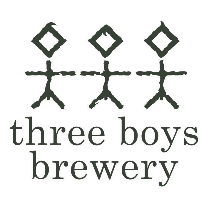 Three Boys Brewery logo plus text to path.png