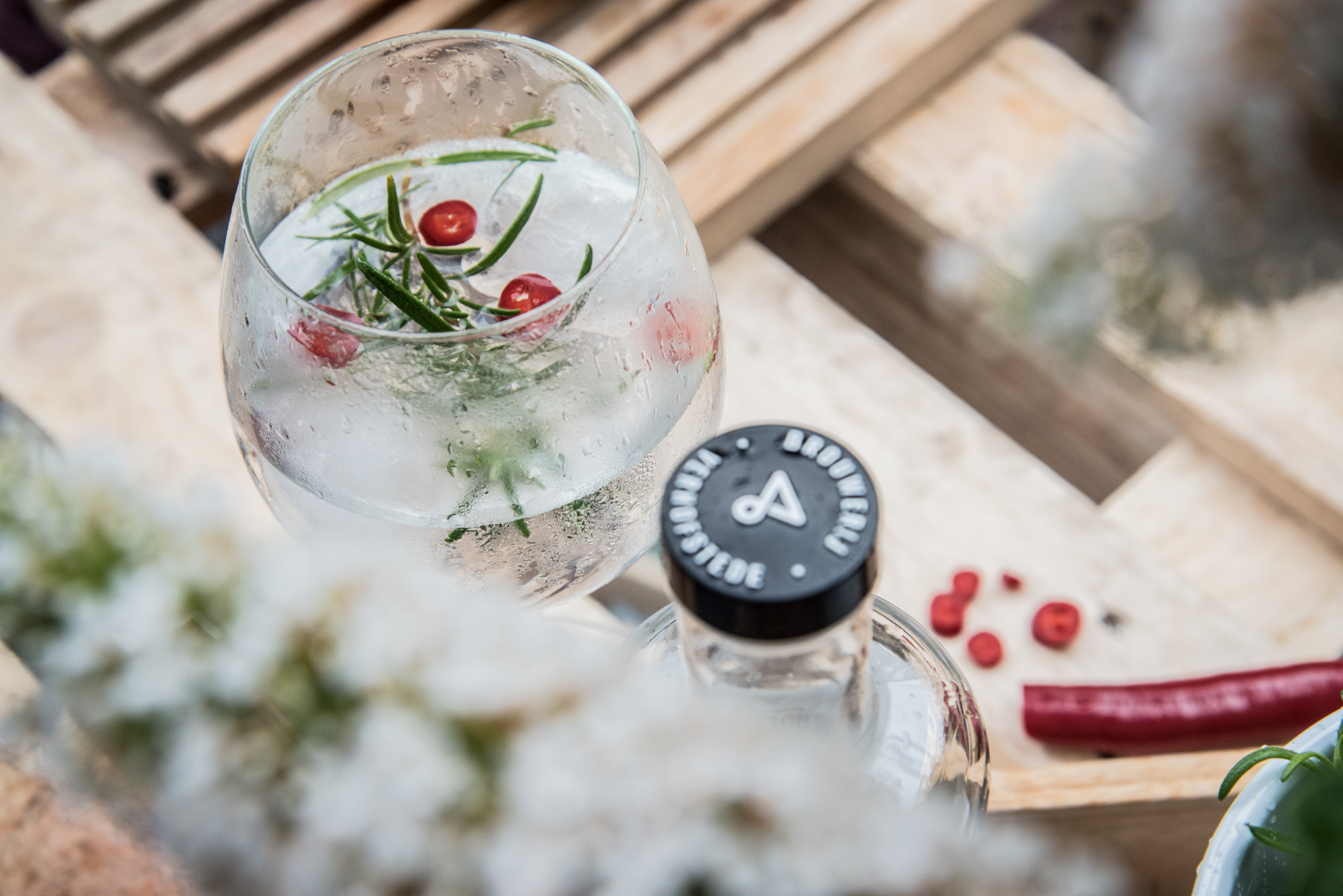 EDELWEISS GIN TONIC - PIKANT
