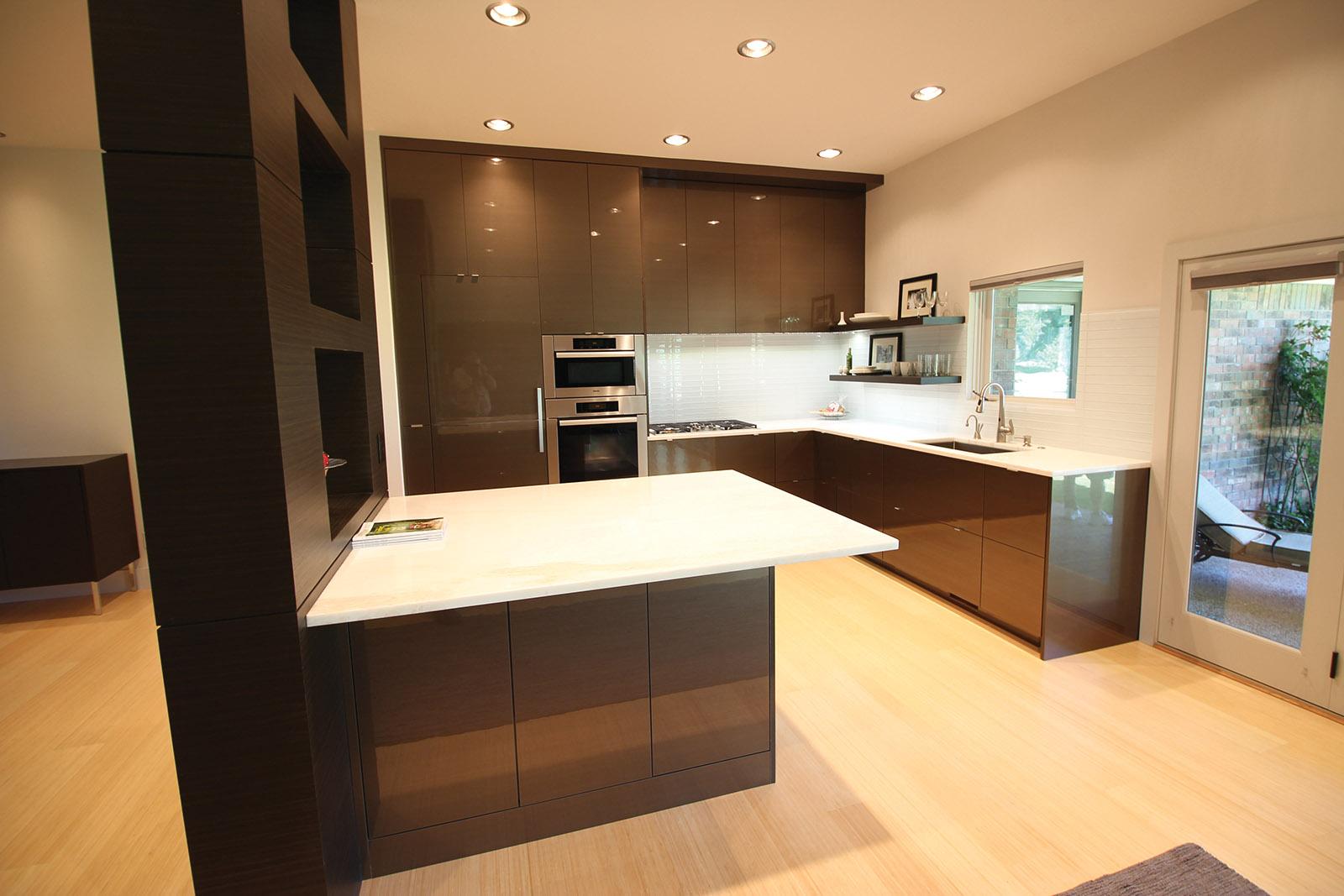 High Contemporary Kitchen