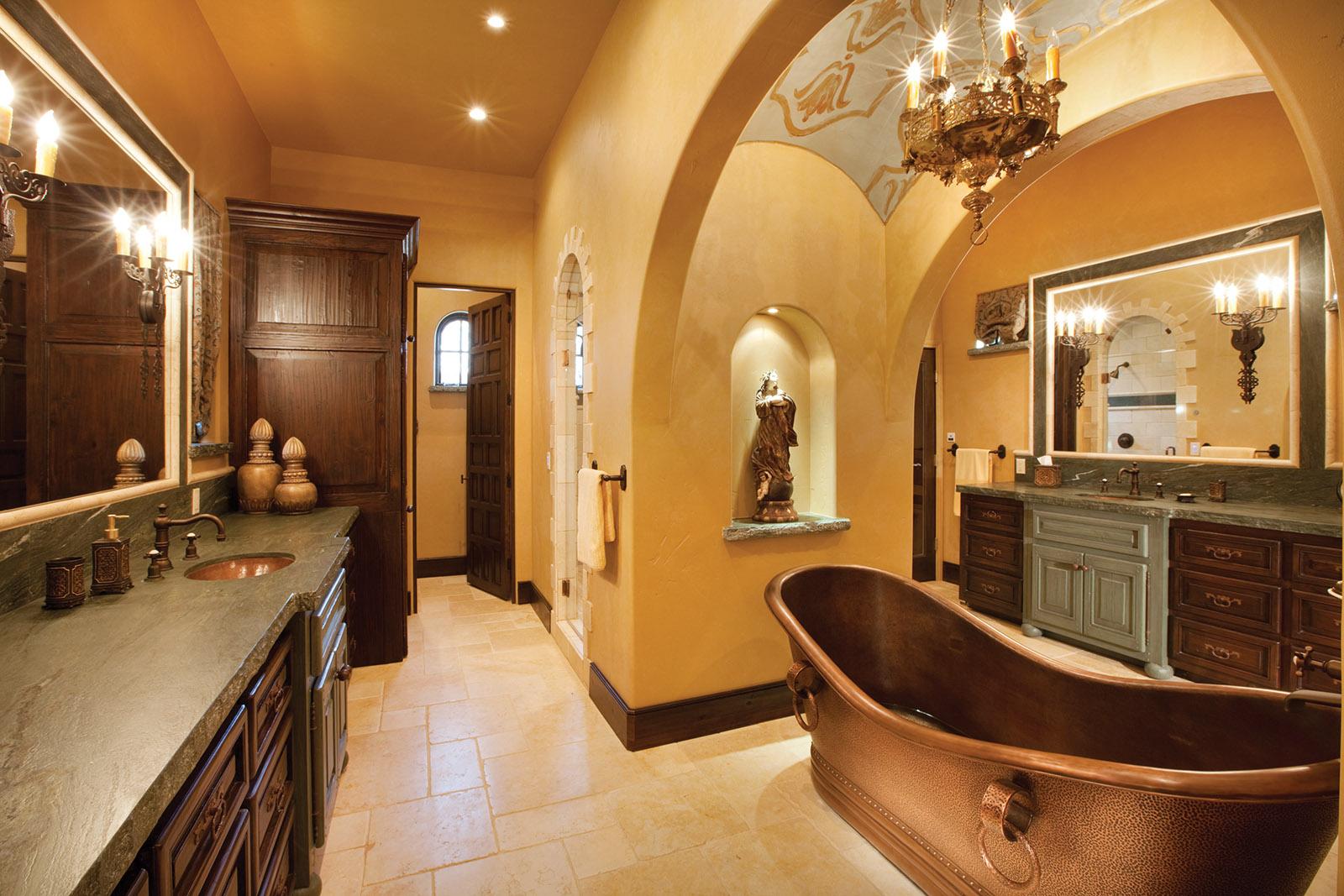 Old World Master Bath
