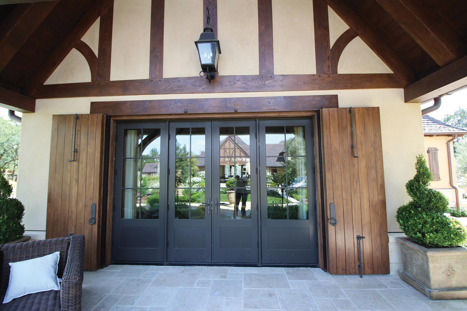 HEALDSBURG, CALIFORNIA WINERY: DOOR SYSTEM