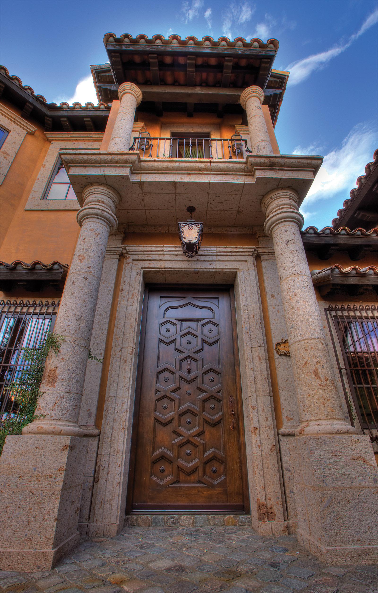 Old World Door - 414