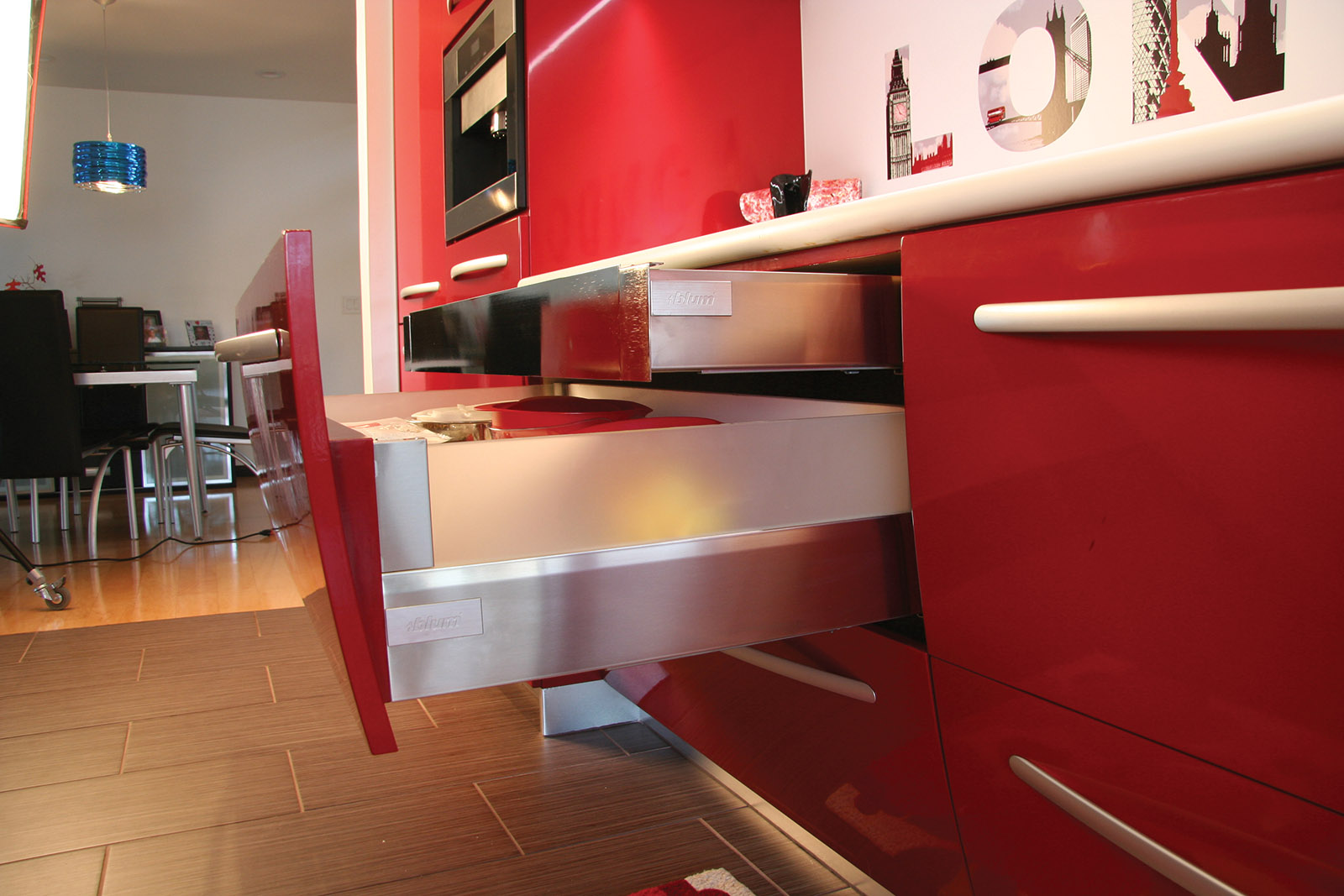 Contemporary Red High Gloss Kitchen.jpg
