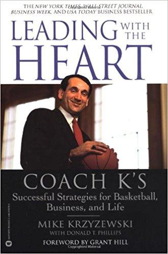 LEADING WITH THE HEART - By: Mike Krzyzewski