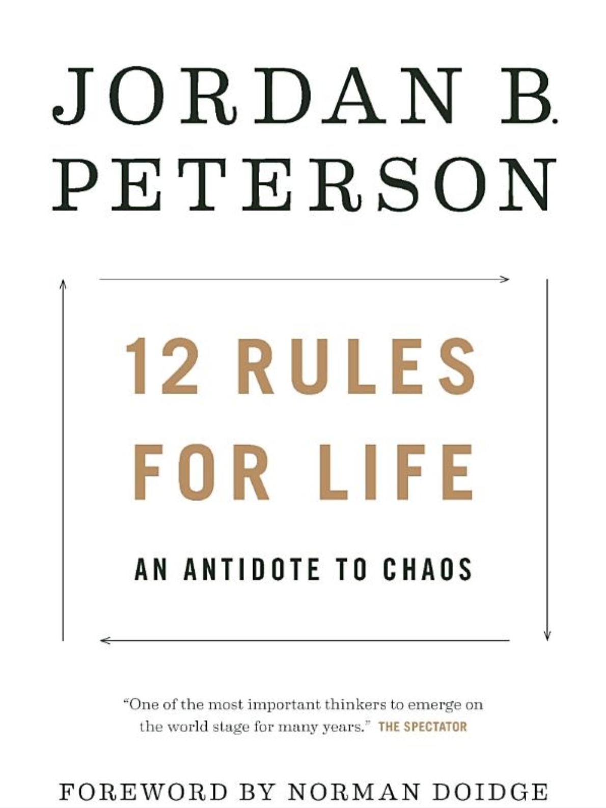12 Rules for Life - By: Jordan Peterson