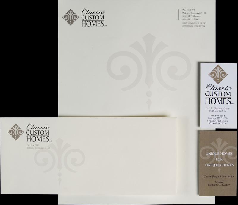 Classic Custom Homes - Imaginary Company