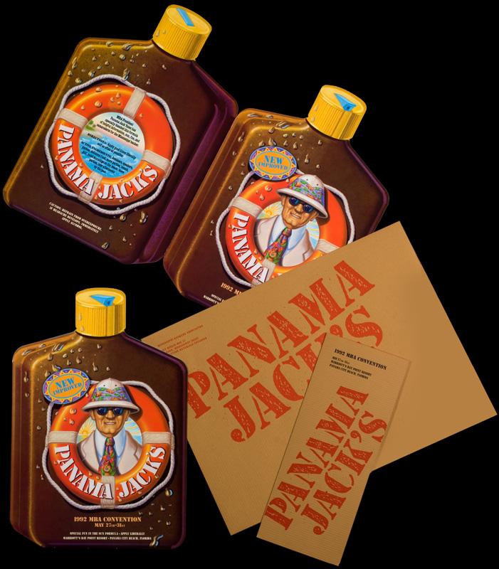 Panama Jack's Invitation - Imaginary Company