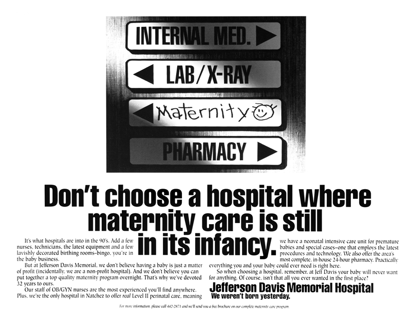 Jefferson Davis Memorial Hospital III - Imaginary Company
