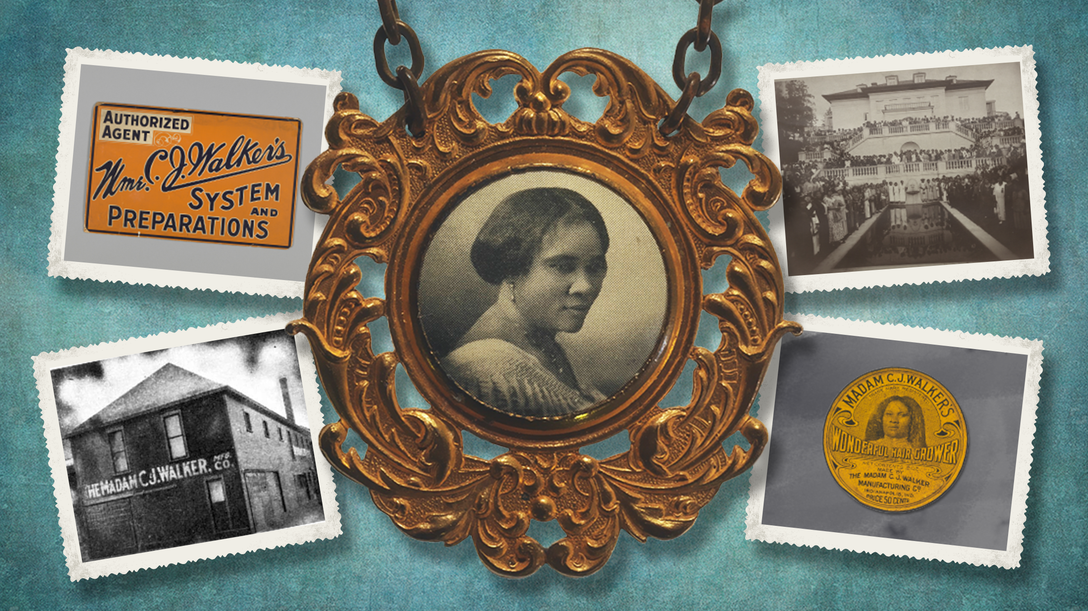 Madam C.J. Walker, the First Self-Made Female Millionaire in the U.S.     Mental Floss