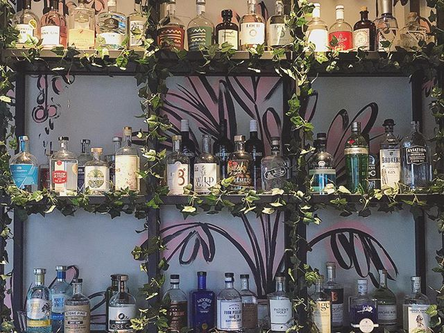Happy World Gin Day 2018!!! Here @therfernerymosman everyday is World Gin Day, but since it's official why not celebrate with one of our selections.  With over 50 to choose from, dinner plans just got easier. ❤️🌱