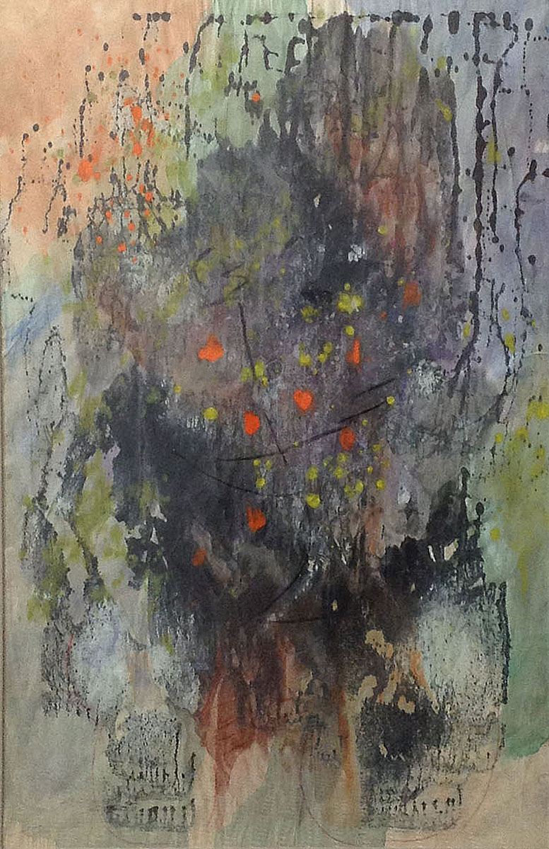 Untitled. 1965. Mixed media on paper.