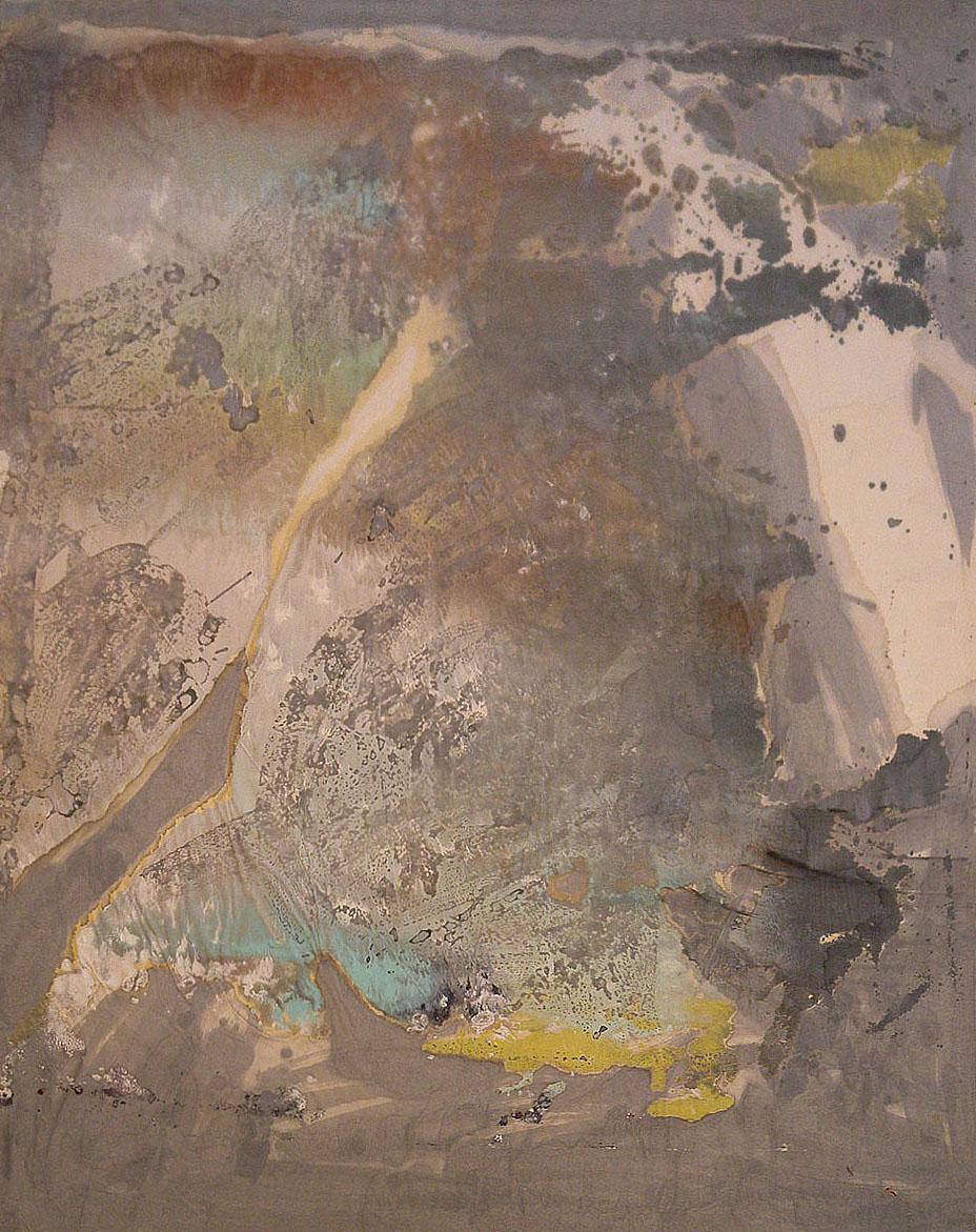 Untitled. 1964. Mixed media on paper.