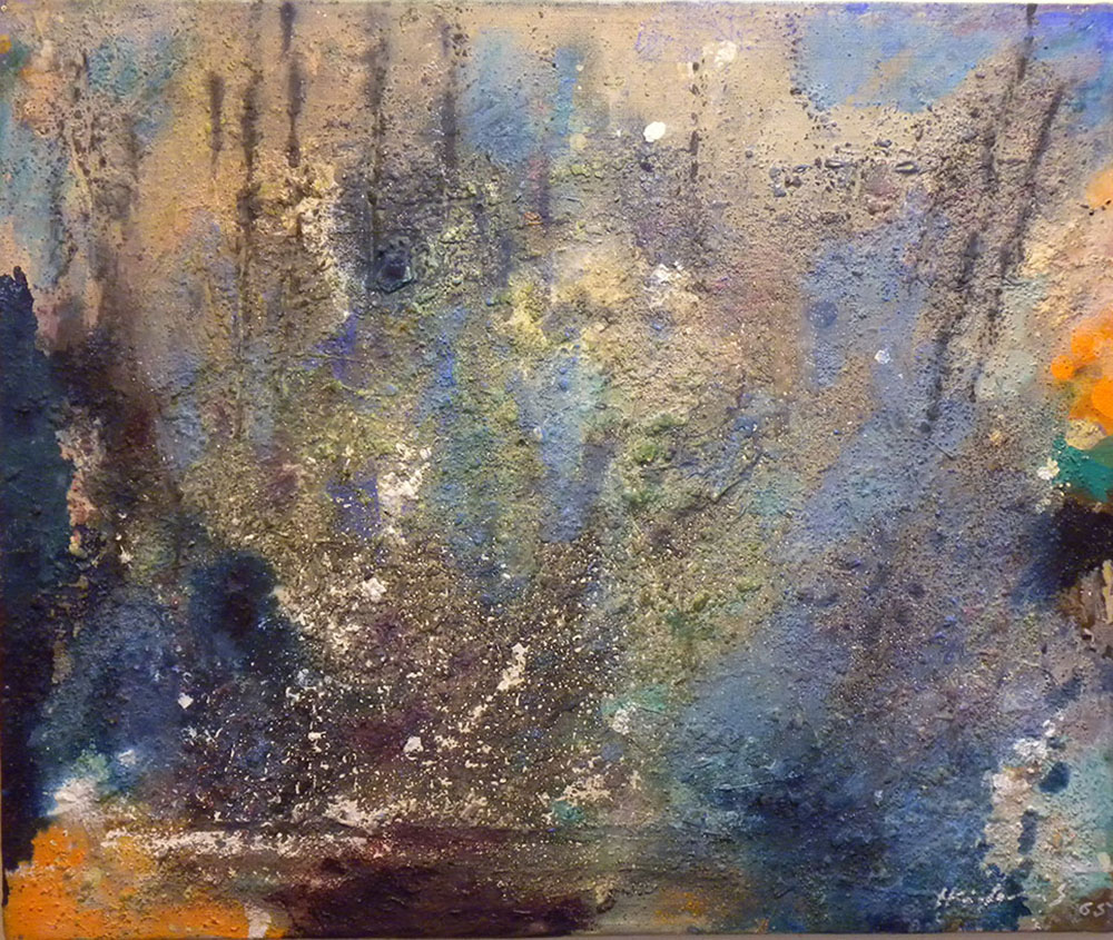 Untitled. 1965. Oil.