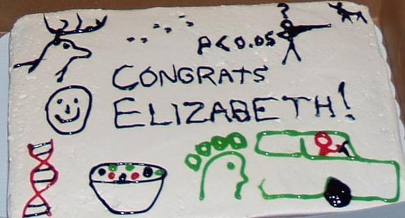 Elizabeth Ball, M.Sc. 2008