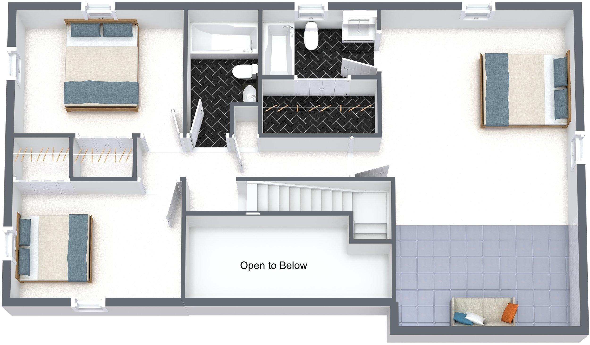 3080 South Street - 2. Floor - 3D Floor Plan.jpg