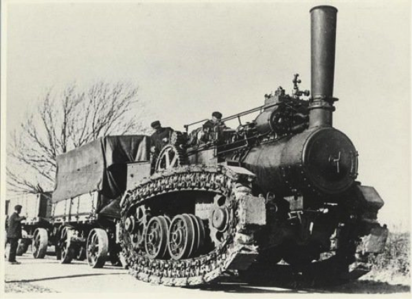 The Hornsby Chain-Track Tractor - 1910