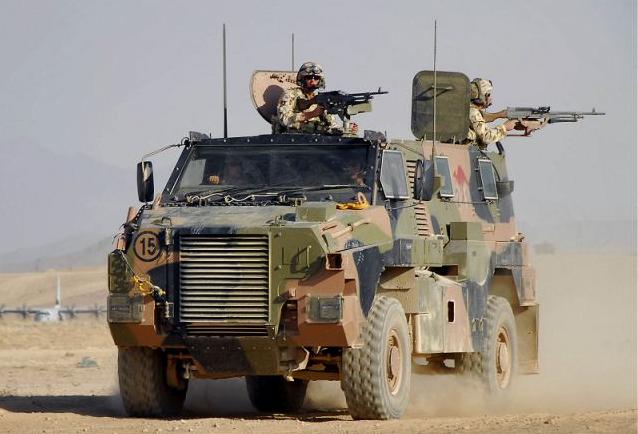 Bushmaster PMV (Image courtesy Australian Army)