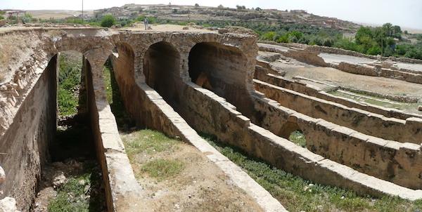 Mesopotamia irrigation channels.