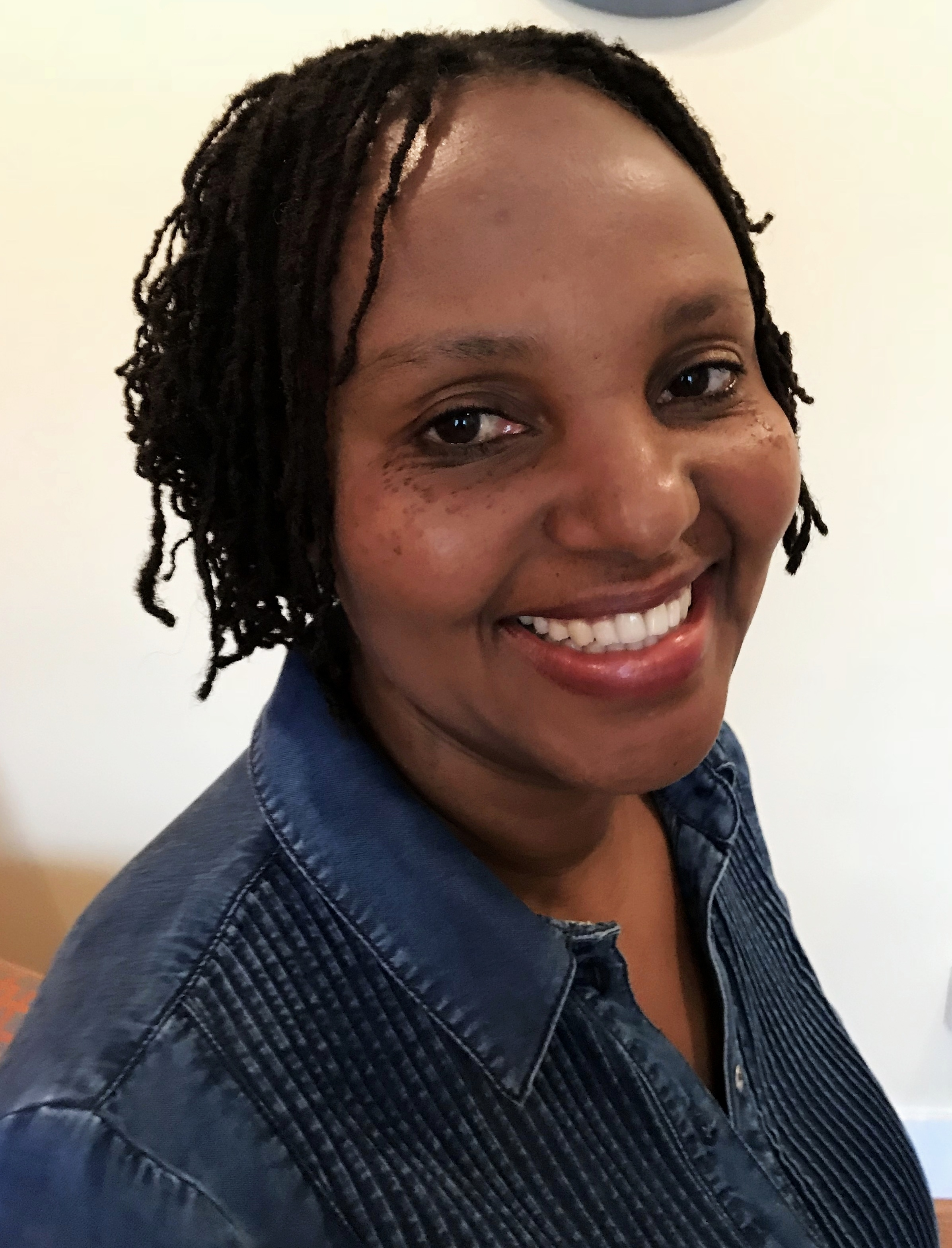 Peninnah Mutungi - Executive DirectorPenninnah is a medical doctor practicing here in St. Louis. She graduated from the University of Nairobi, Medical School.Her goal is to ensure children spend more time studying, rather than fetching water. Peninnah has been instrumental in coordinating Rehema's efforts to drill a borehole (well) in Mulumini Secondary School located in semi-arid part of Makueni, Kenya.Check out our