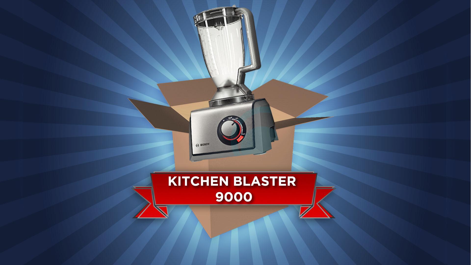 Kitchen Blaster 9000