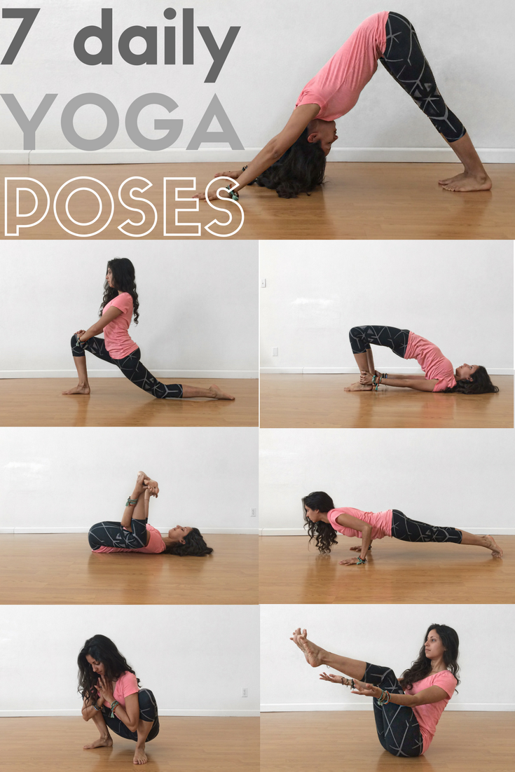 7 daily yoga poses everyday
