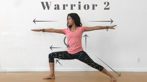 Warrior 2 Alignment
