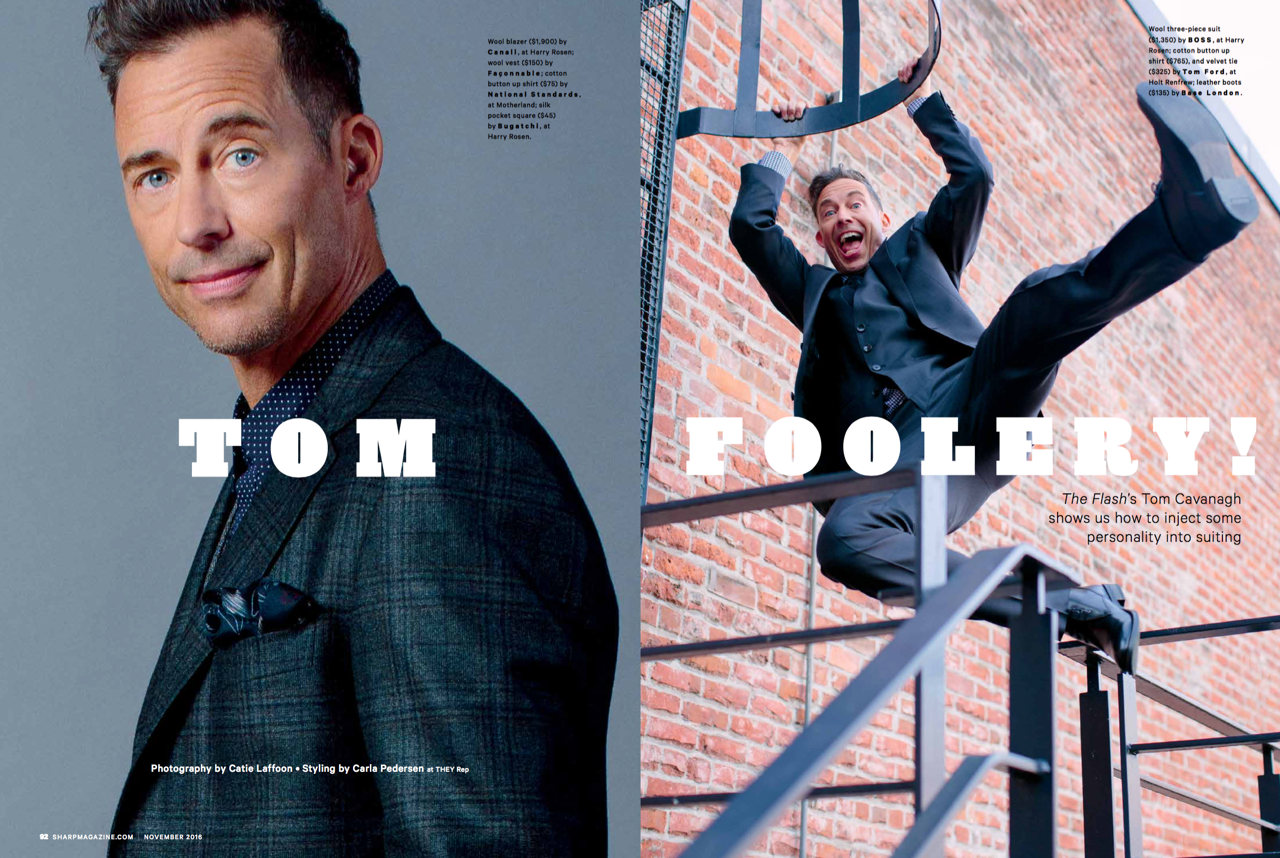Tom Cavanagh | SHARP Magazine
