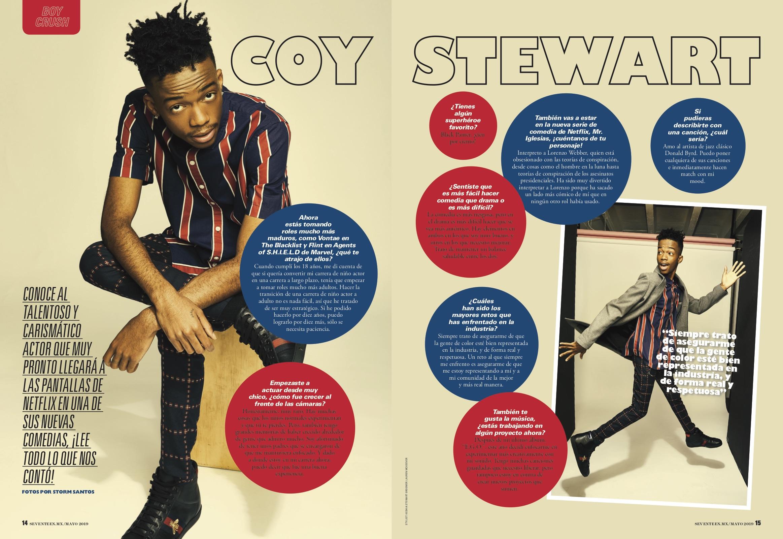 Coy Stewart | SEVENTEEN MEXICO