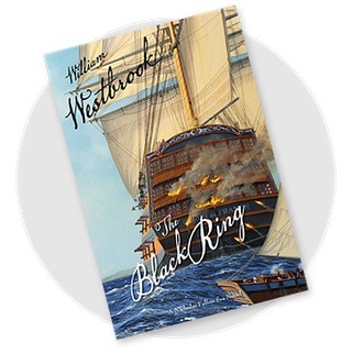"""Please join me at the WORLD LAUNCH PARTY OF THE BLACK RING Friday, November 9th, 2019, 5:30pm at The Tides Inn, Irvington, VA That dashing British privateer Nicholas Fallon is back again, helping himself to a fistful of mayhem in The Black Ring. """"Bill Westbrook's follow-up to The Bermuda Privateer is buoyed by details of history and seamanship that will delight any fan of saltwater yarns and explosive action."""" Broos Campbell, author of the Matty Graves Novels The launch party will begin with a cocktail reception, followed by a reading and conversation with the author, then a book signing. For more information about the event and how to purchase tickets, go to https://www.tidesinn.com/tidesevents/"""