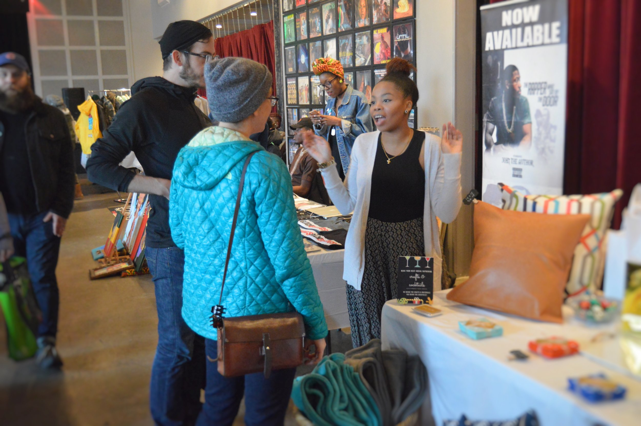 My First Event + Five Tips for Vendor Events
