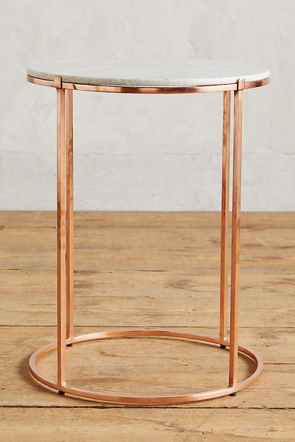 Leavenworth Marble Side Table