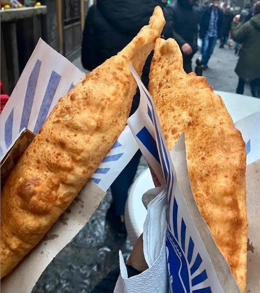 pizza fritta by    @sorbillo