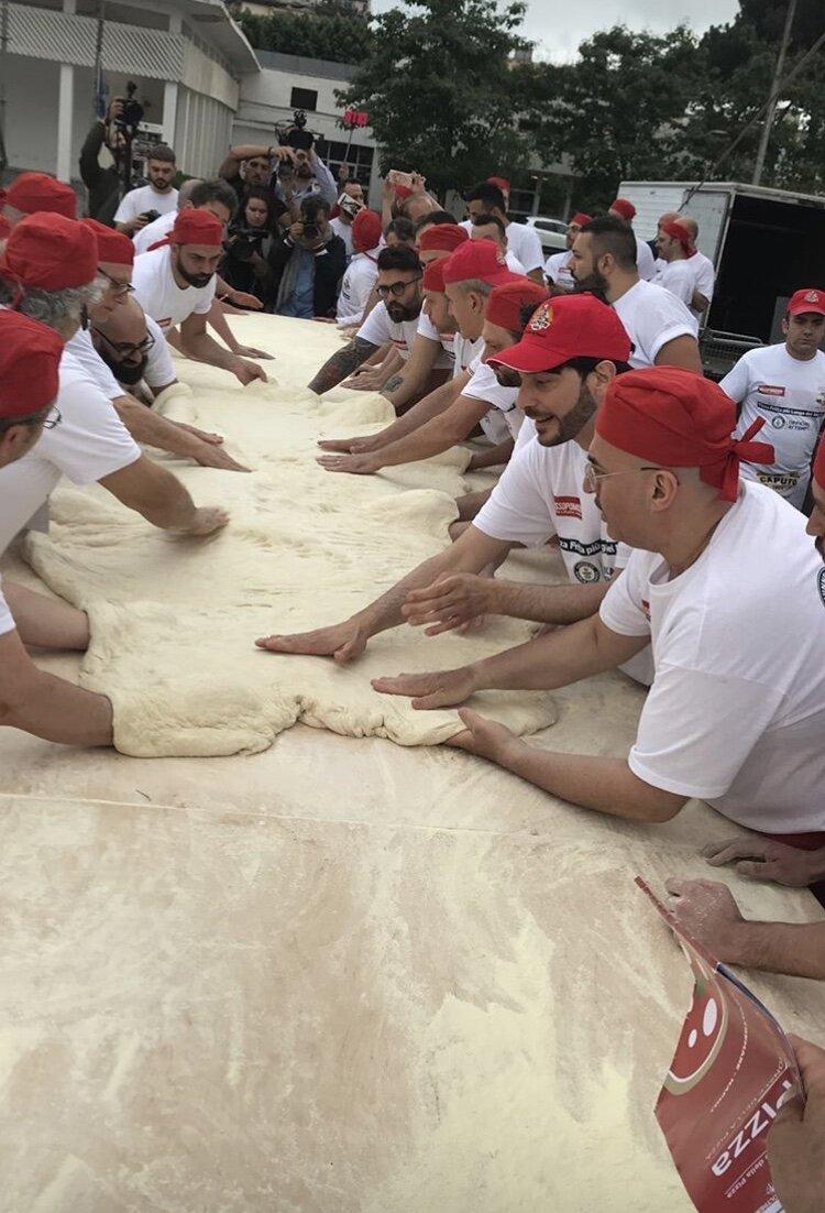 Dough prep -    @antimocaputo