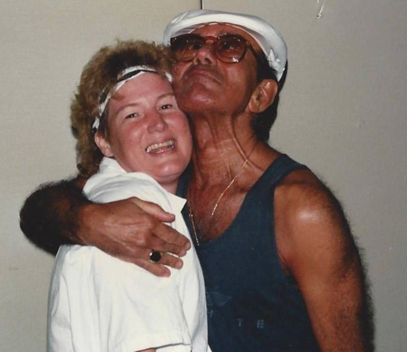 Miss Ann with legendary jazz teacher Luigi